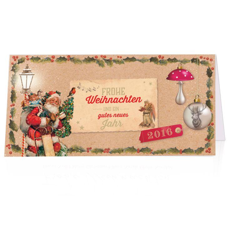 Nostalgische Weihnachtskarten - auch diese findet man bei uns! Top-Kartenlieferant.de in Aachen