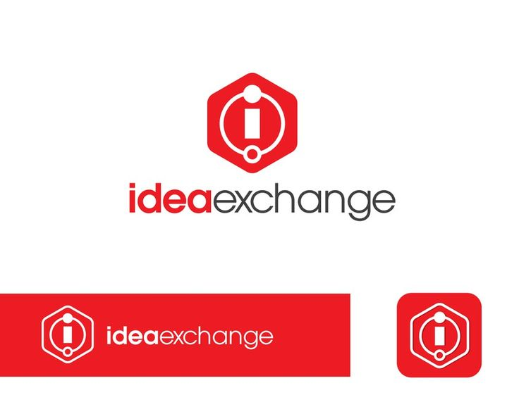 Logo creation internal innovation initiative called IdeaExchange for national construction firm by astun