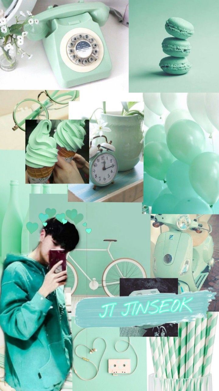 Background Biru Toska : background, toska, Jinseok, Warna, Aqua,, Hijau, Neon,, Ilustrasi