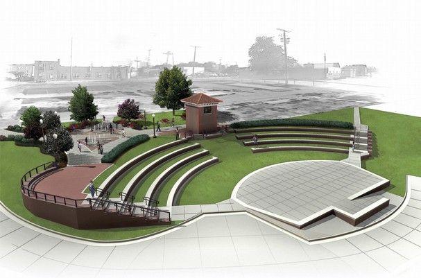 outdoor amphitheater plan - Google Search