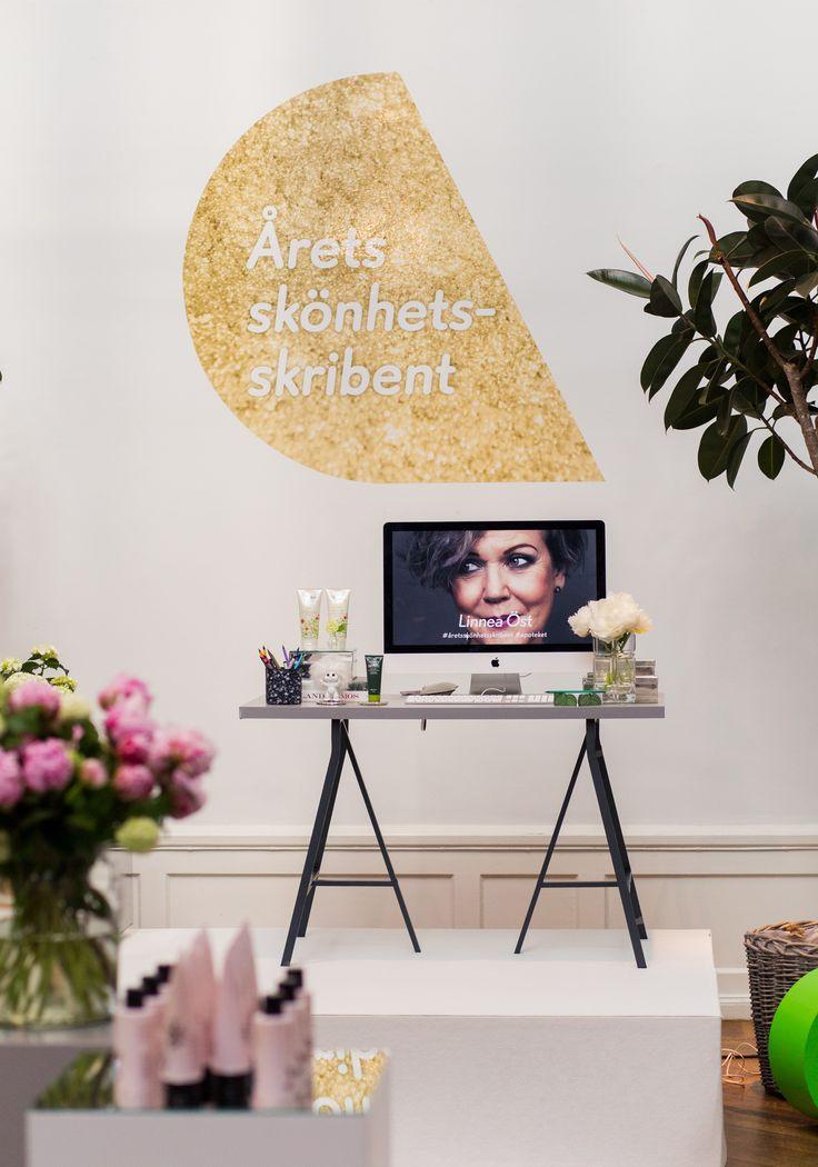 Årets skönhetsskribent 2016 / Koncept, Produktion, Design: No Ordinary 12 / Fotograf: Olof Grind