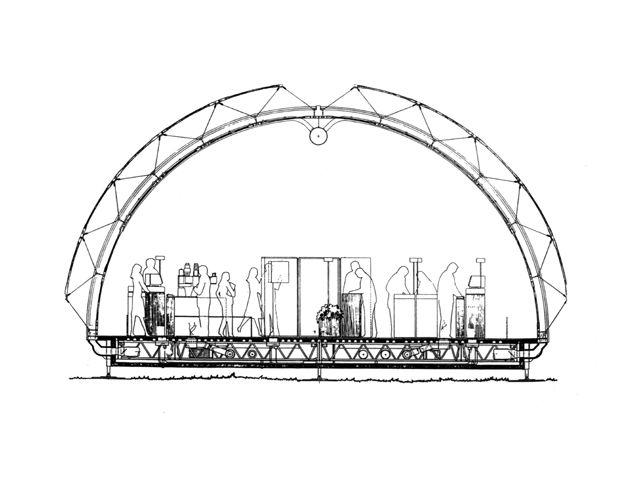 Renzo Piano: IBM travelling Pavilion