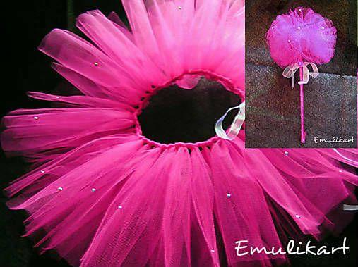 emulikart / Tutu kostým nielen na karneval pre malé víly