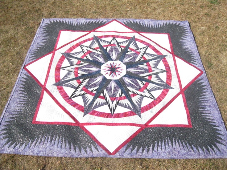 17 Best Images About Quilts Compass Mariners Star