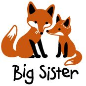 fox big sister t-shirts and gifts