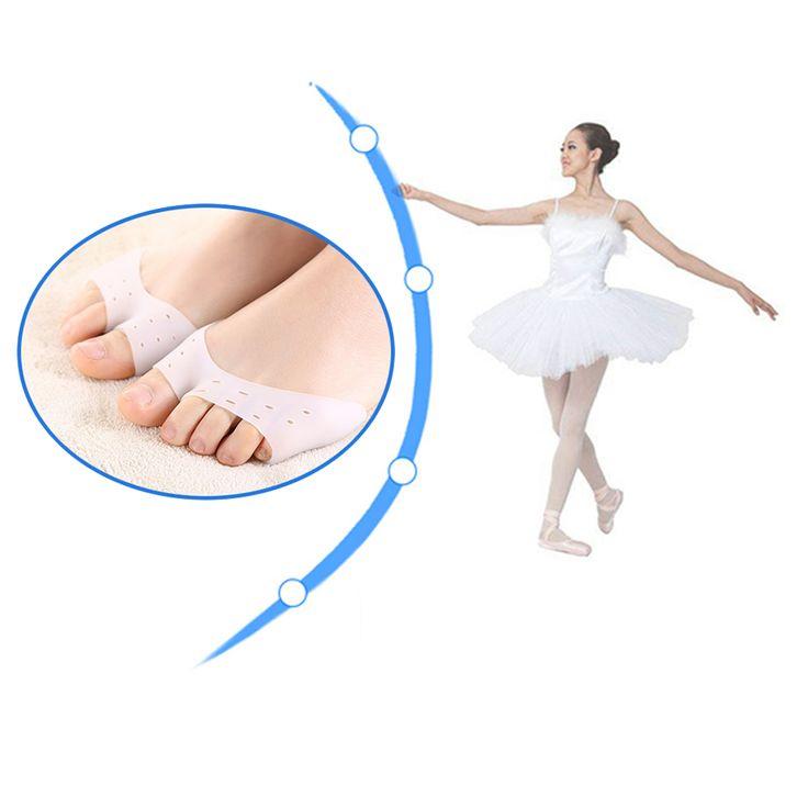 Miękkie Silikonowe Niewidoczne Toe Rękawem Ochrony Stóp Balet Buty Wysokie Obcasy Toe Klocki Żel Ochronny Narzędzie Pielęgnacja Z38201 Ortopedyczne
