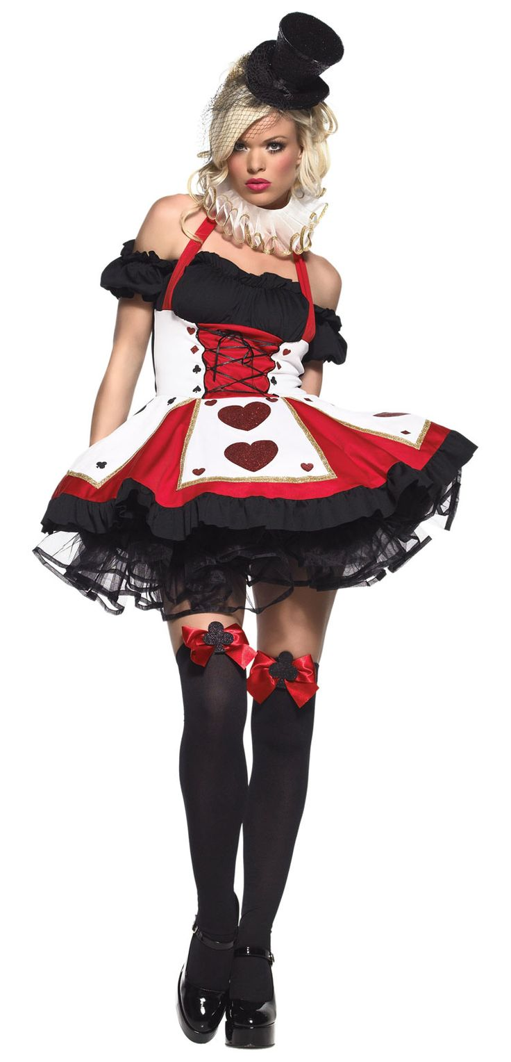 Pretty Playing Card Sexy Costume - Alice in Wonderland Costumes