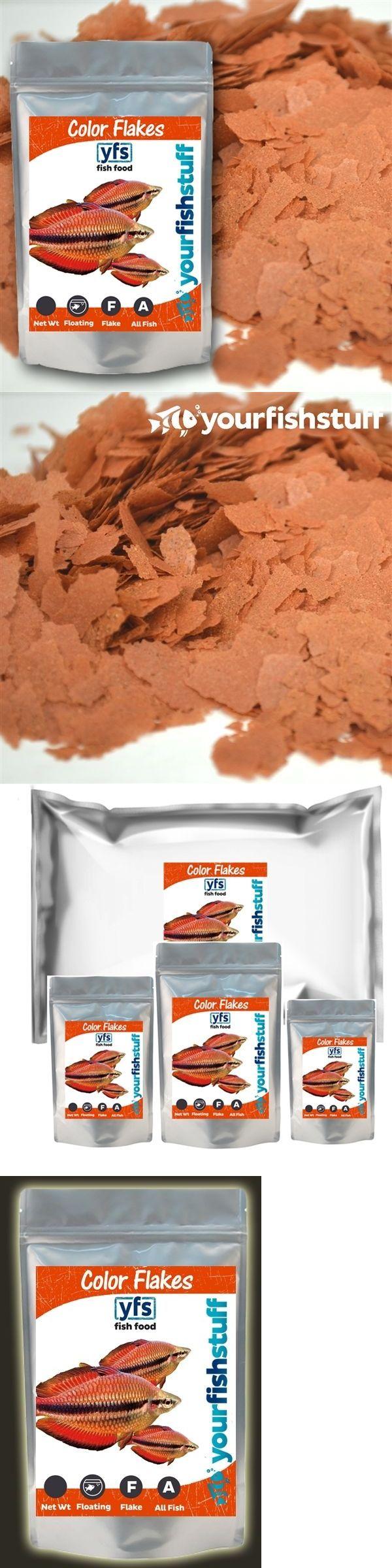 Food 20759: Yfs Bulk Color Flakes Freshwater Or Marine Aquarium Fish Food 5 Lbs BUY IT NOW ONLY: $57.95