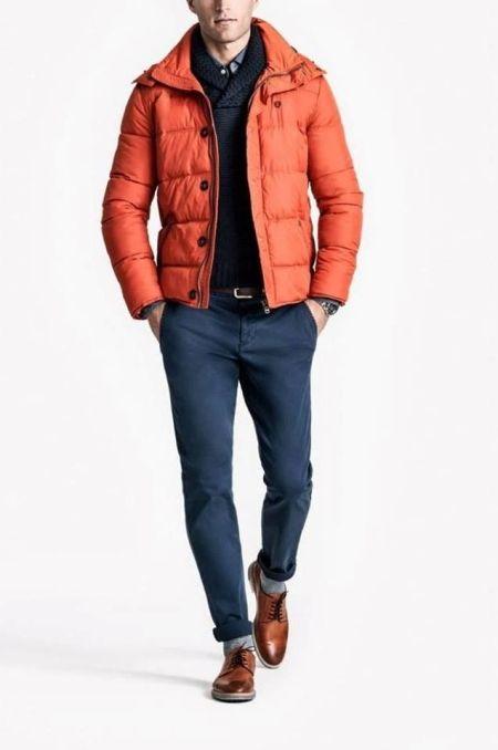 Abrigo anaranjado