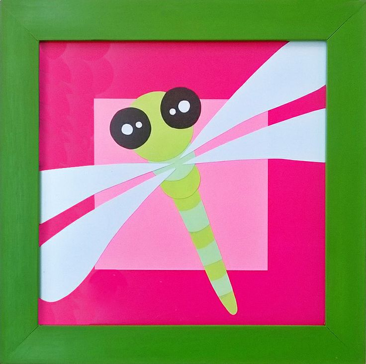 #decora #cuadros #libelula #bebes #ecologico Compra en: http://www.regalosdirecto.com.mx/para-el-bebe/igriega-kids/cuadro-libelula.html
