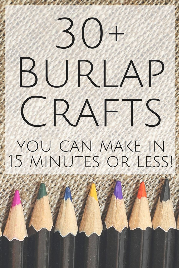 Burlap Decor And More Over 30 Ideas For You The Group Board On