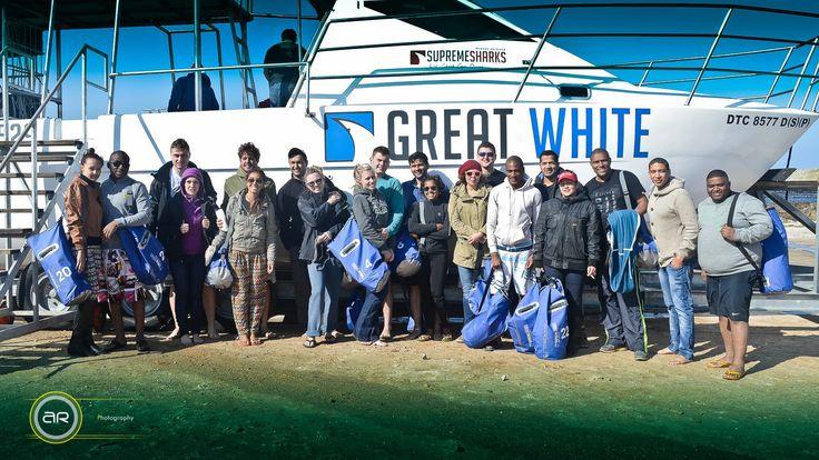 #sharkcagediving #greatwhites #kleinbaai #shark&safari