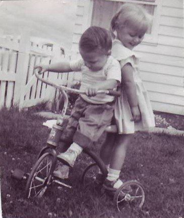 the reason every kid should have the old fashioned tricycle :)