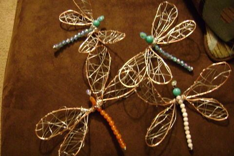 Tutorial: Wire dragonflies