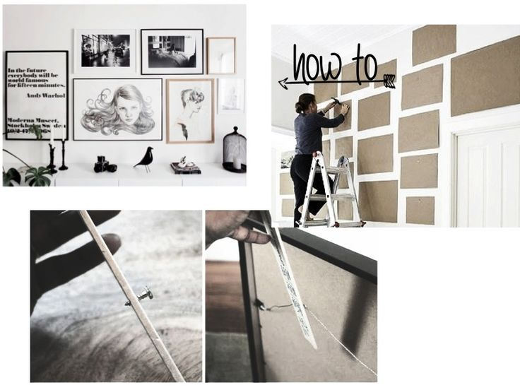 HOW TO: PICTURE HANGING MADE EASY