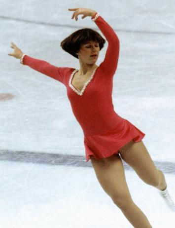 Dorothy Hamill, 1976 Olympic gold medalist.