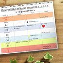 CooleTeile24 Präsentiert: 3 Spalten Wöchentliche Darstellung / 3 Zeilen täglich / Din A4-quer Format für Deutschland Inklusive gesetzliche und nicht gesetzliche Feiertage ,...