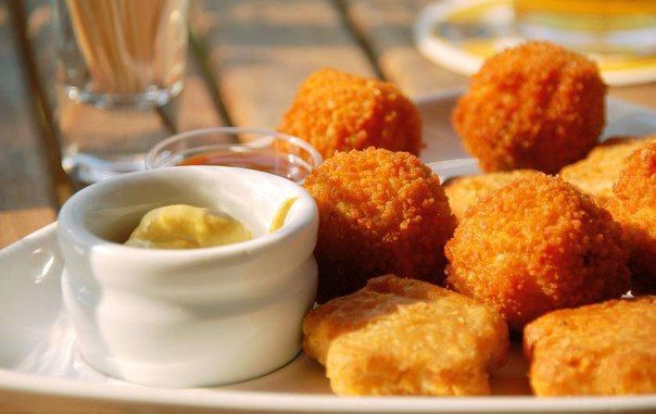 Куриные нагетсы без масла,без муки и прочих вредностей  / Удивительная еда!