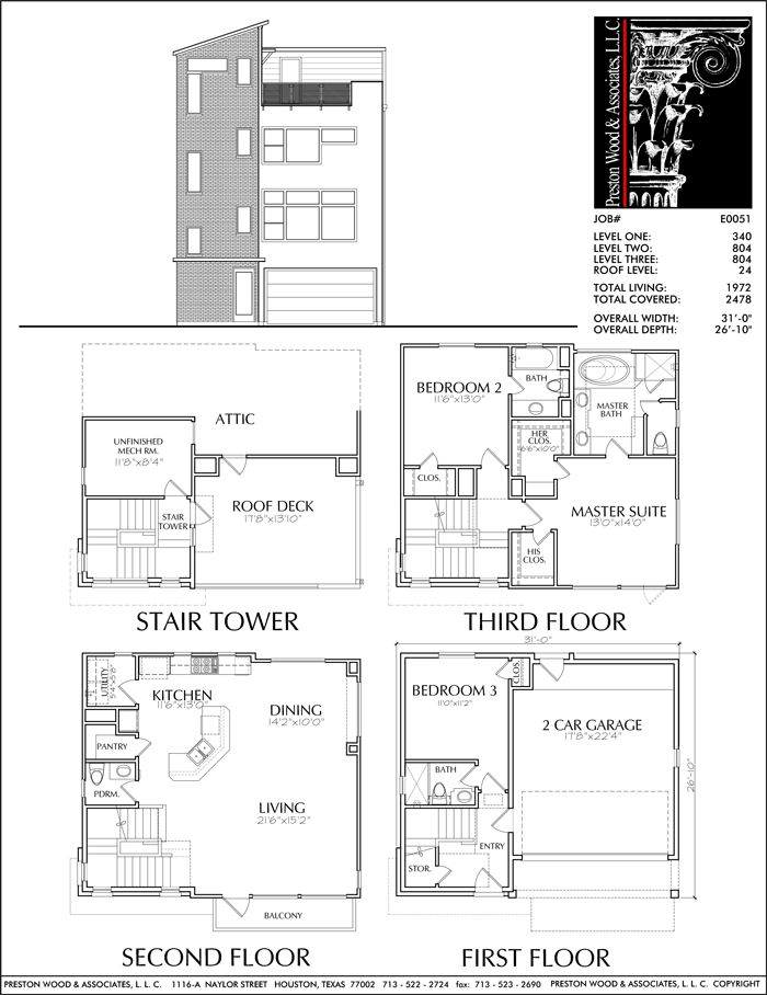 52 Best 4 Story Th Plan Images On Pinterest House Floor