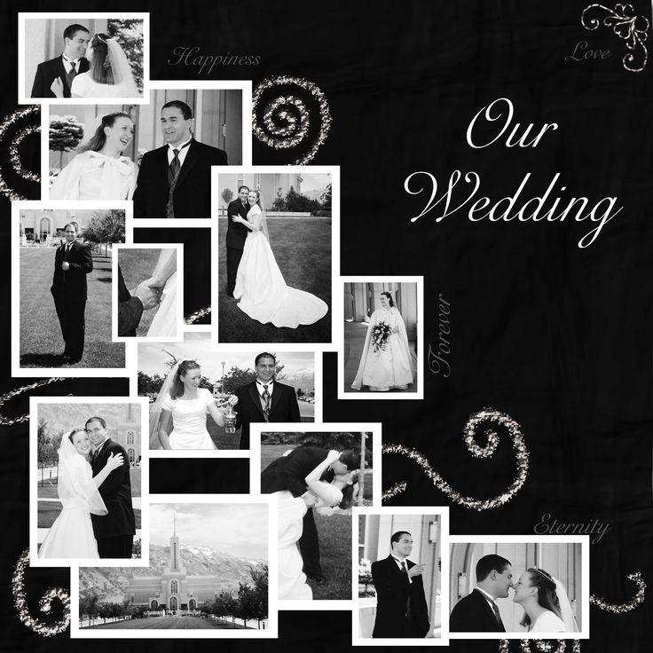 Wedding scrapbook pages | The Very Beginning of My Scrapbooking Journey | Taumarunui Girl