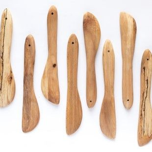 Classic Swedish Butter Knife. Hand carved from locally sourced wood and available to buy directly from the maker via TheMakerPlace.co.uk These knives are great for spreading butter or serving soft cheese and are lovely placed next to the butter dish or on the cheese board at dinner parties.