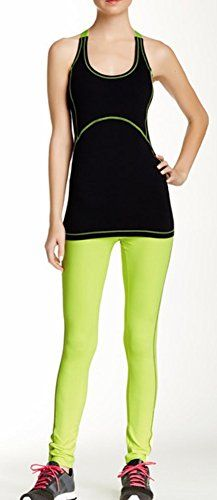 X by Gottex Womens Lux ContrastStitched Legging Yoga pant green S -- Read more  at the image link.Note:It is affiliate link to Amazon.