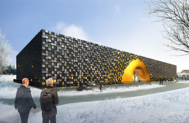 LIAG Architects Design Energy Saving Art Storage Facility, Courtesy of LIAG architects