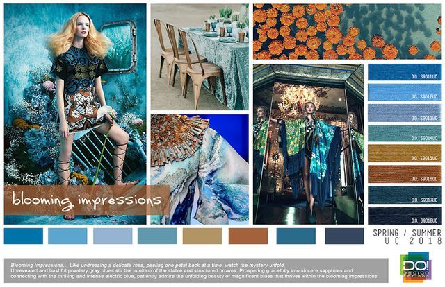 TRENDS // DESIGN OPTIONS - WOMEN'S TRENDS + COLORS . SS 2018 | FASHION VIGNETTE | Bloglovin'