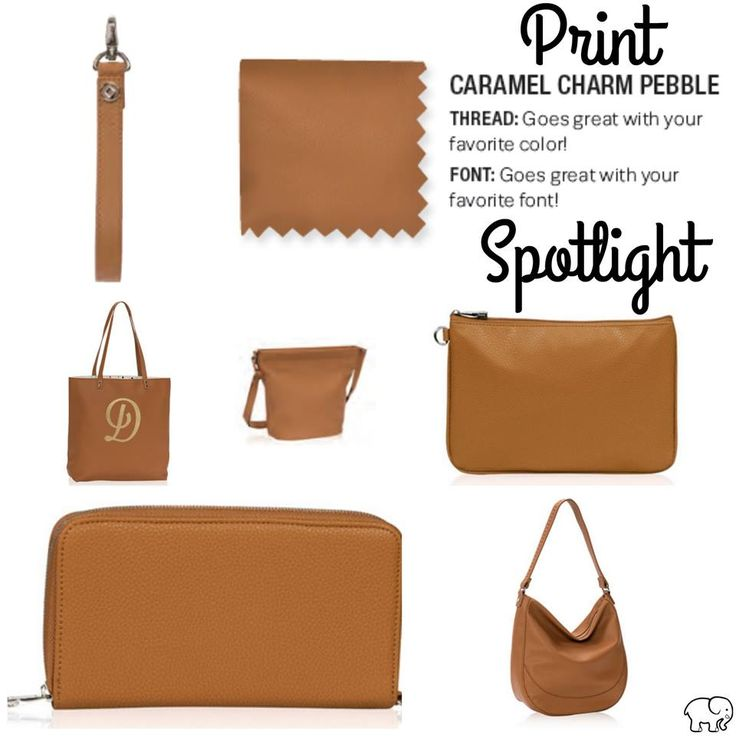 Print Spotlight for Spring/Summer 2017 Thirty-One - Caramel Charm Pebble #newcatalog #Carrie31Bags