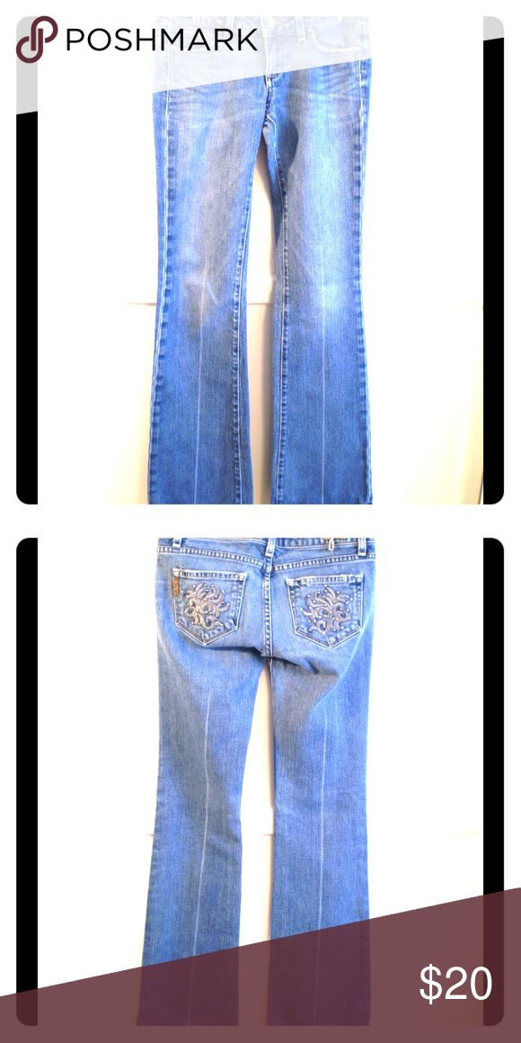 """Paige """"Laurel Canyon"""" wide leg light blue jeans Paige """"Laurel Canyon"""" wide leg light blue jeans Paige Jeans Jeans Flare & Wide Leg"""