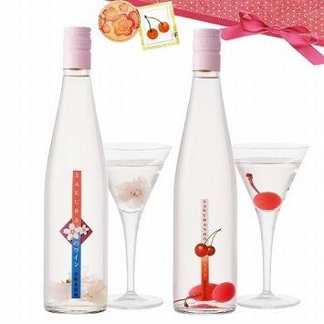 food selection[フード セレクション]|ロリアン チェリーとさくら花びらの入った甘いワイン2本セット|フェリシモ