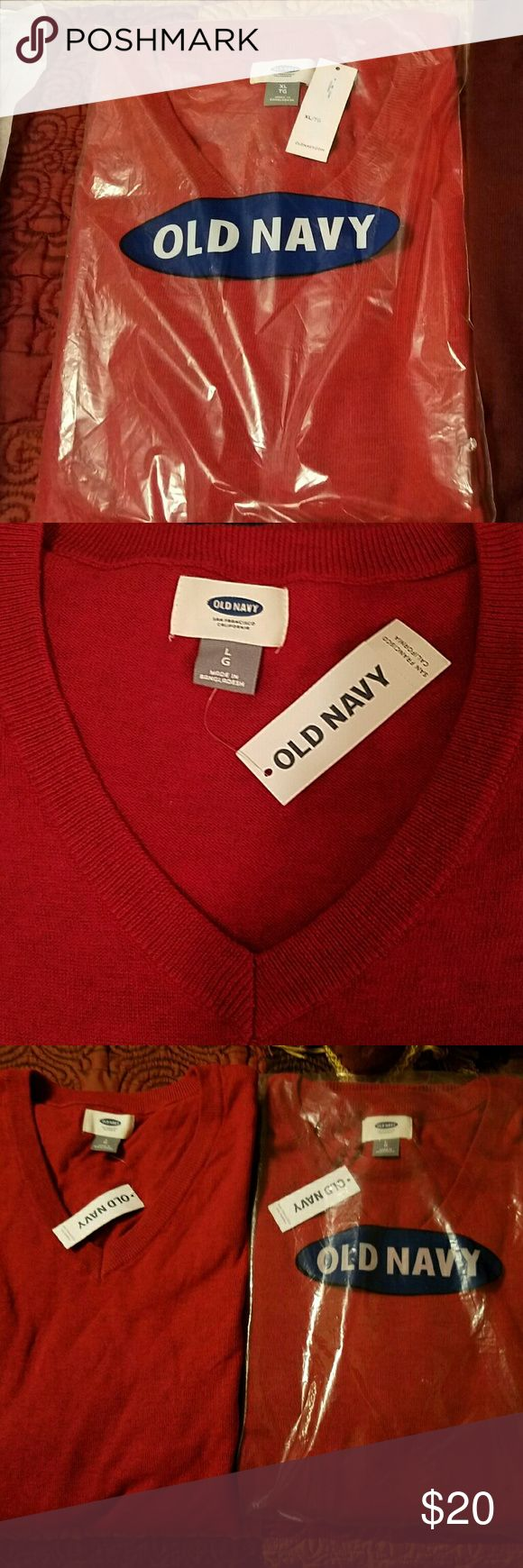 Old Navy Men's Sweater NWT Old navy sweater men's V- Neck style size large NWT Old Navy Shirts Sweatshirts & Hoodies