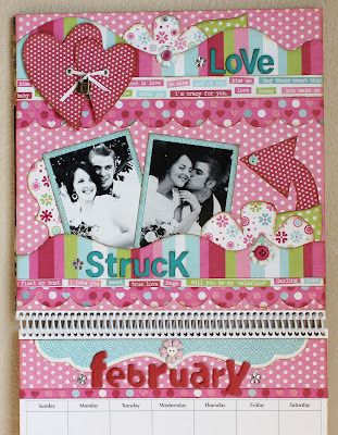 February Calendar   Kiwi Lane Designs