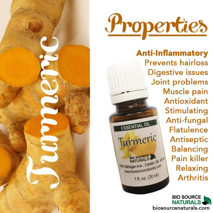 Turmeric essential oil is an amazing anti-inflammatory! #aromatherapy