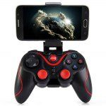 Terios T3  Wireless Bluetooth 3.0 Gamepad Gaming Controller for Android Smartphone is a cool game controller for high-quality games. It connects using Bluetooth. It is like any normal game controller it has two throttles, 4 buttons, and a d-pad. If you are a gamer I recommend this to you.