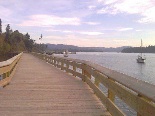 Victoria-Sooke day drive or 2-3 day adventure/explore: Boardwalk & Pier in Sooke,BC