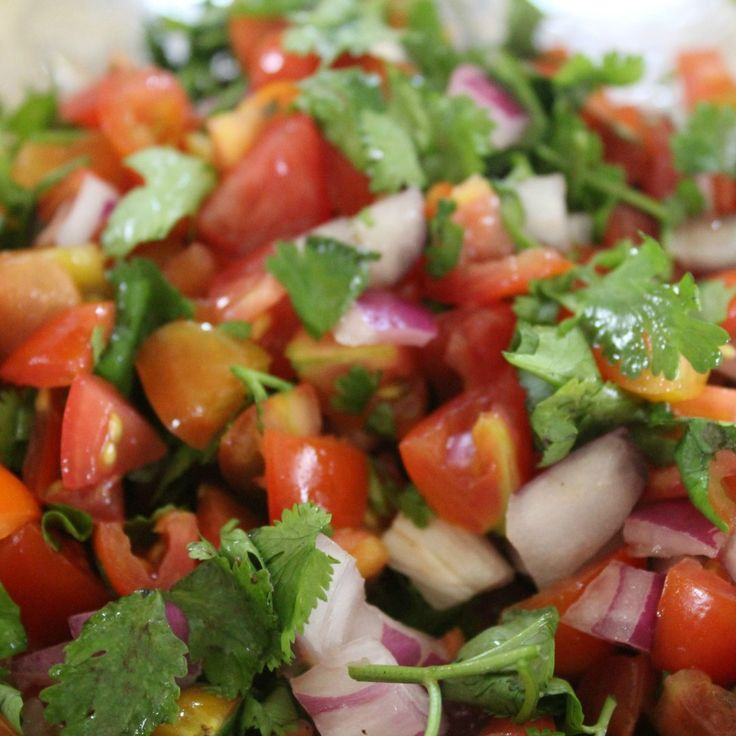 Made this salsa today and it was so good.