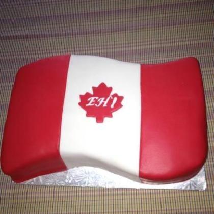gâteau pour la Fête du Canada / Canada Day Cake