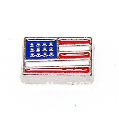 США флаг США флаг плавающей очарование плавающей очарование для плавающей шарм медальоны