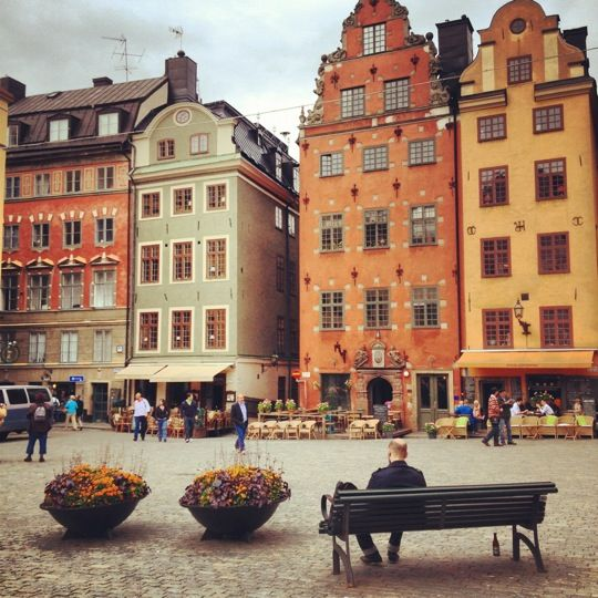 Situated in the old town, Stortorget is known as 'The Great Square' with colourful architecture and cafés in abundance.   www.papakata.co.uk