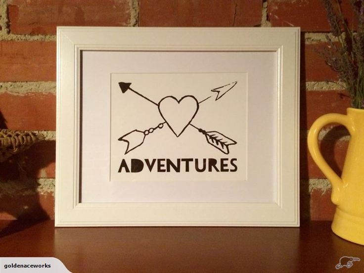 Pimp your kid's walls with some sweet artwork. Love Adventures Quote. Wall Art Print Trademe NZ SHE ACED IT LIMITED trading as Golden Ace Works.