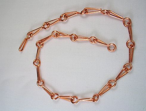Tutorial for a handmade chain, from Lampwork Etc.