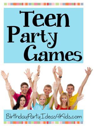 Fun Teen Party Games                                                       …