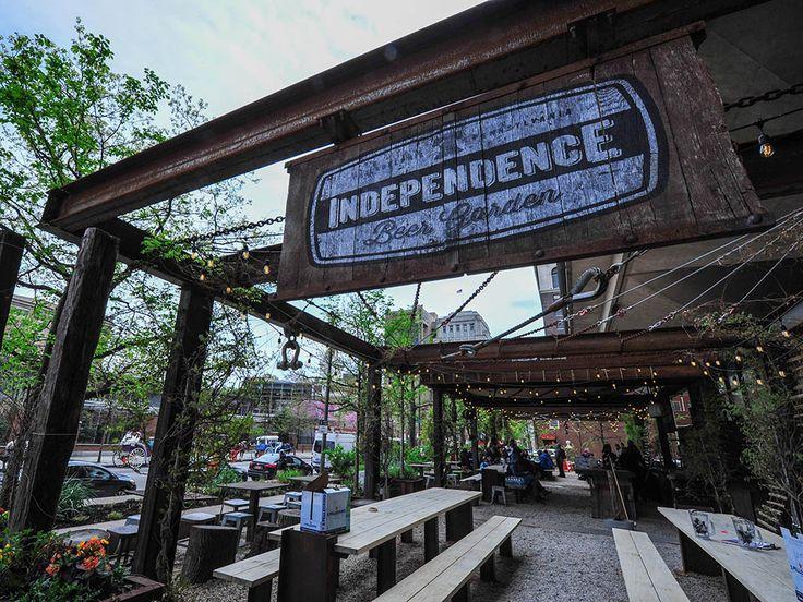 Independence Beer Garden Philadelphia Beer Hall Inspiration Pinterest Gardens Beer
