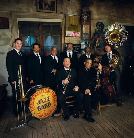 Preservation Hall Jazz Band http://blog.neworleans.com/2012/02/15-essential-live-music-clubs-in-new-orleans/