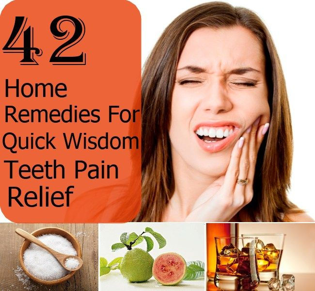 how to help wisdom tooth pain