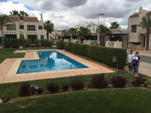 Casa in Rodagolf Roda Casa in Rodagolf is a semi-detached holiday home with a year-round outdoor pool, set in Roda. Guests benefit from patio. Free WiFi is offered throughout the property.  A dishwasher, an oven and a fridge can be found in the kitchen.