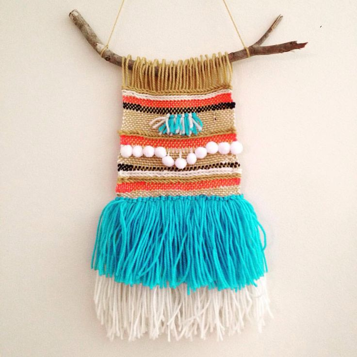 A Dor able Design || Woven wall hanging - weave