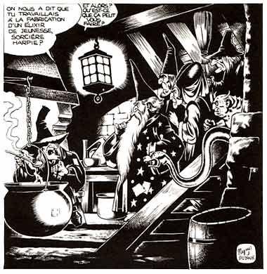 comic art by Magnus (1969)