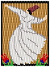 Whirling Dervish Pattern by Sigrid Wynne-Evans at Bead-Patterns.com